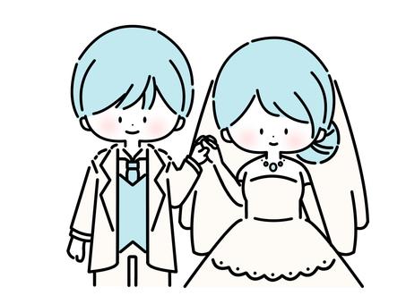 Wedding (blue: 01)