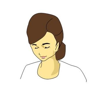 鬱悶的女人