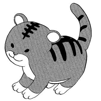 Tiger Year-Pen Drawing