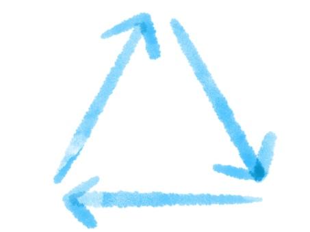 百慕大三角圓形箭頭