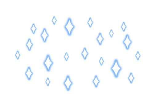 閃光效果(藍色)