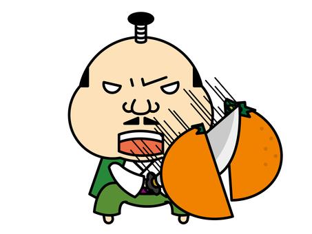 Tonosan mandarin orange hunting