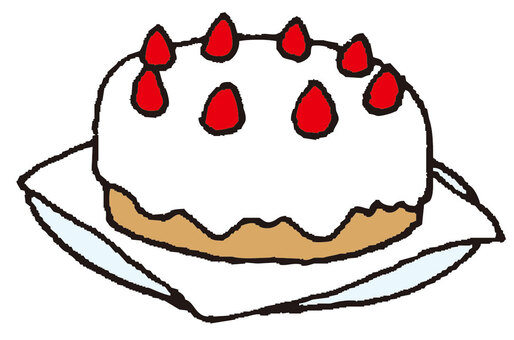 草莓蛋糕(大廳)