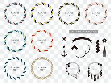戒指材料 - 繩子