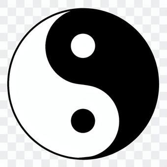 Yin Yang Jade (black and white)