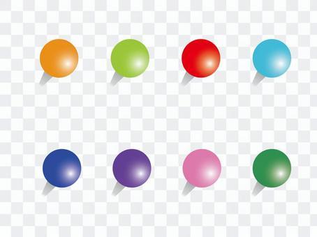 Round pin