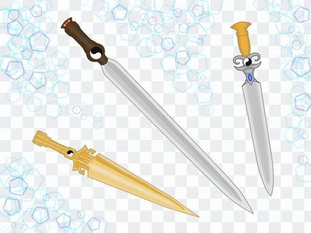 幻想武器1把匕首
