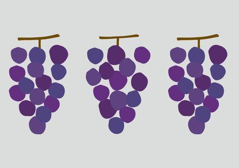 Retro grapes