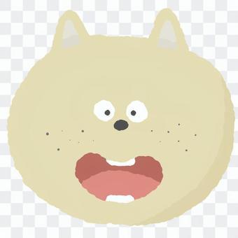 可愛的動物臉