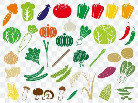 蔬菜图标集
