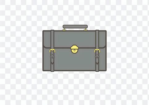 Leather bag 1 (ash)