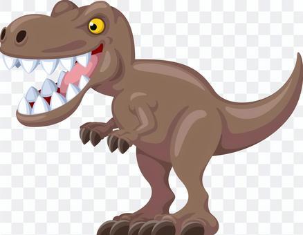 Dinosaur tyrannosaurus character
