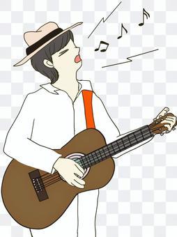 男性ミュージシャン