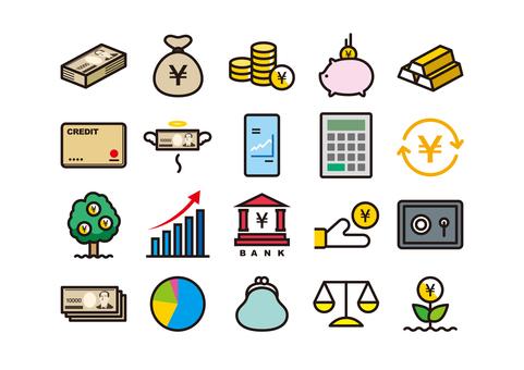 金融圖標顏色