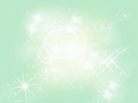 光の背景 緑