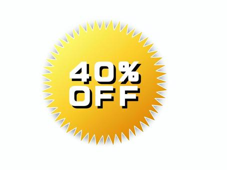 40%offpop