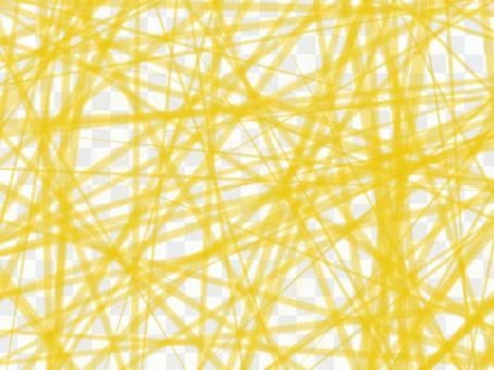 背景黃芥末色紗線線
