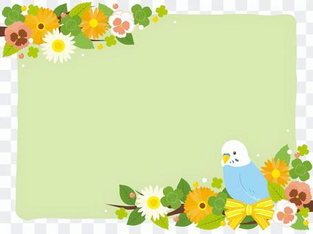 與Sekisei Inco的花框架
