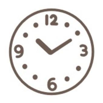 時鐘簡單秒針指針時間