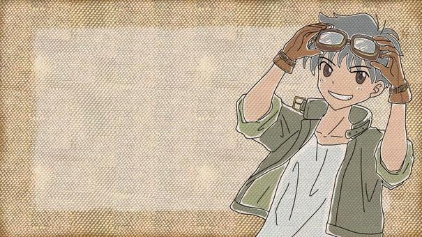 鏡框男孩2
