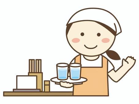 Meal preparation shop / Udon shop / Soba shop / Restaurant