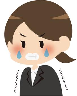 女人哭後悔