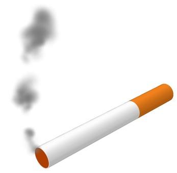 Second-hand smoke cigarettes