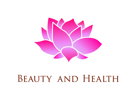 Beauty salon logo, signboard image