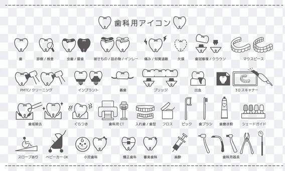 圖標材料_用於牙科診所