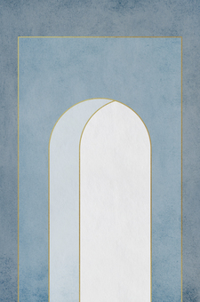 Arched doorway_Background of arch opening