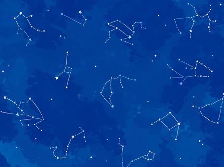星空 12星座