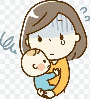 嬰兒和母親_產後抑鬱症