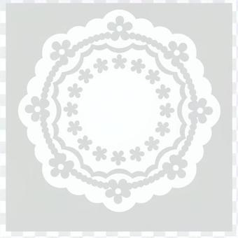 レース(八角形)