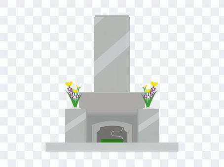 シンプルなお墓