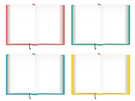 4 book spreads