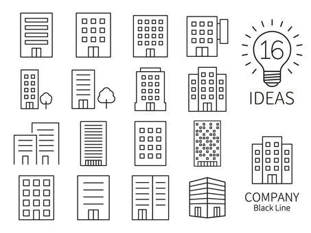 建築圖標 16 個想法