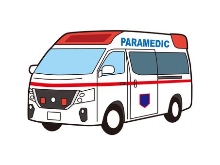 救護車醫生車急救車