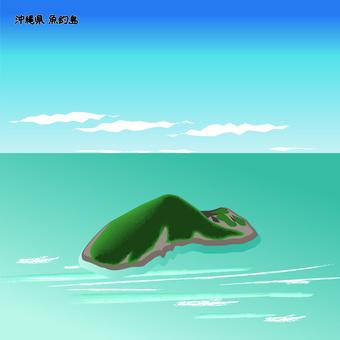 沖繩縣Uotsuri島Senkaku Islands島海上