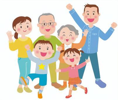 精力充沛的家庭(长期)全长