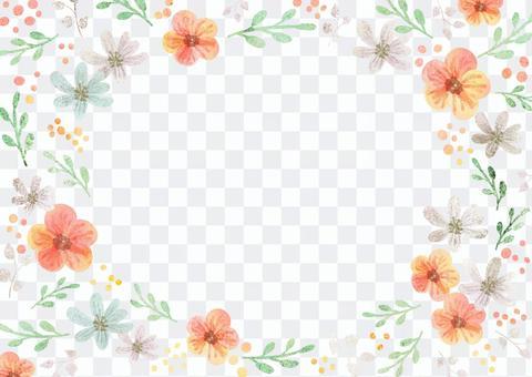 少女材質054花框