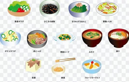 配菜材料圖集合