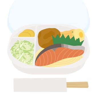 外賣便當烤三文魚