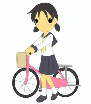 自行车女孩