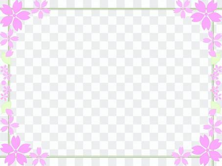 櫻桃樹框架25