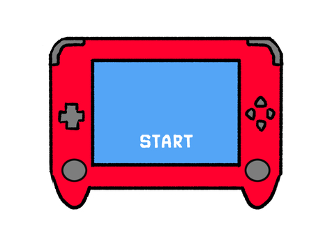 Game console red