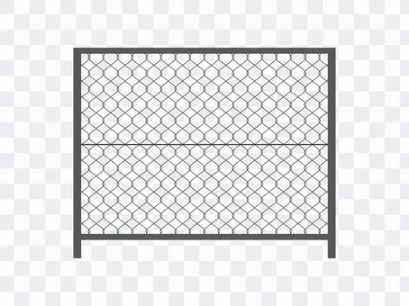 Wire mesh fence fence