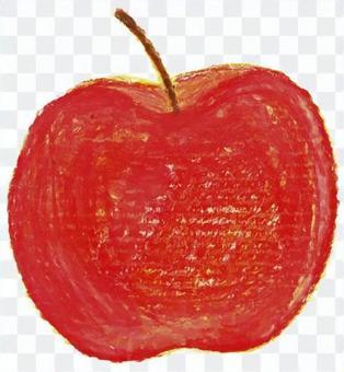 リンゴ クレヨン