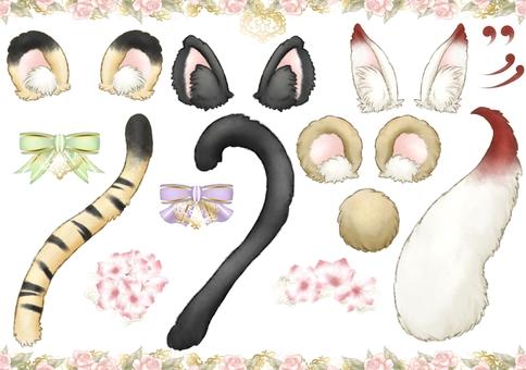 Narikiri Animal Japanese Style Makeup Set