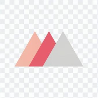 세 겹치는 삼각