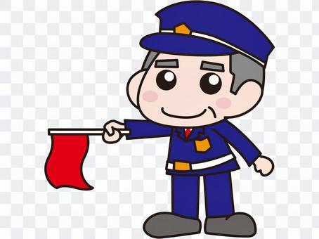 Security guard - Elderly men